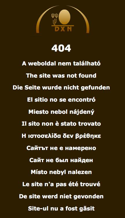 Página web no funciona