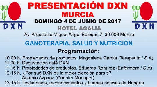 Ganoterapia DXN Murcia