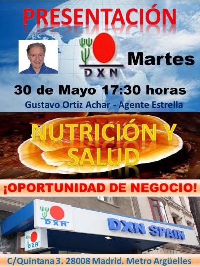 presentacion dxn madrid
