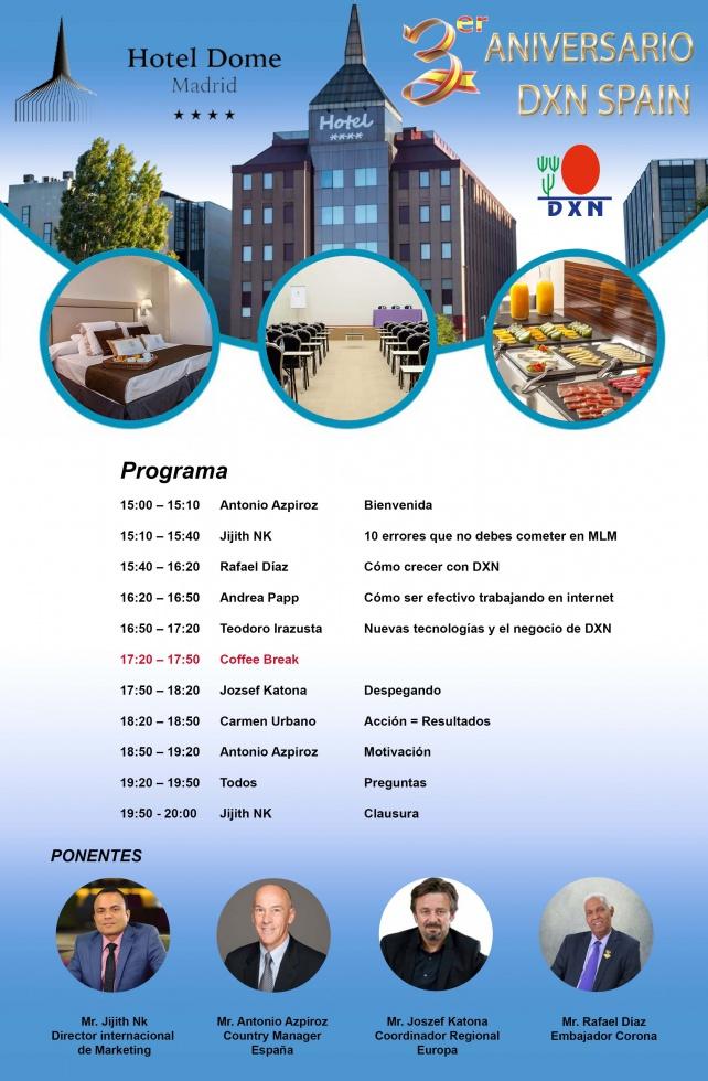 3er Aniversario DXN Spain