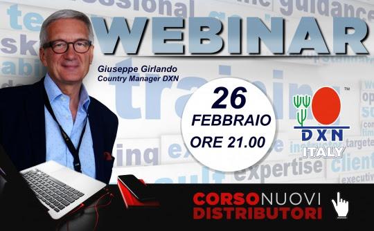 dxn italia webinario