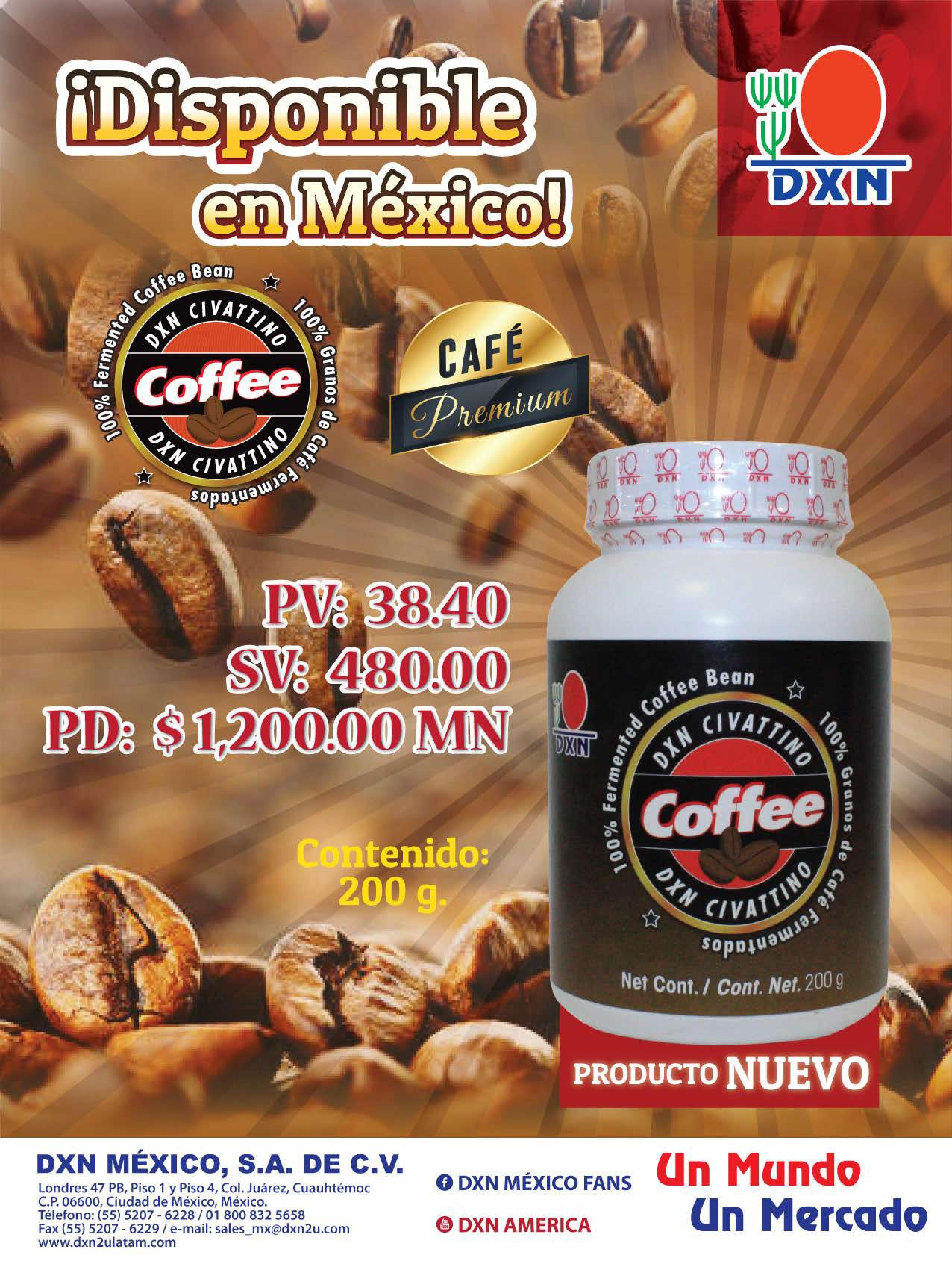 dxn mexico Civattino Coffee