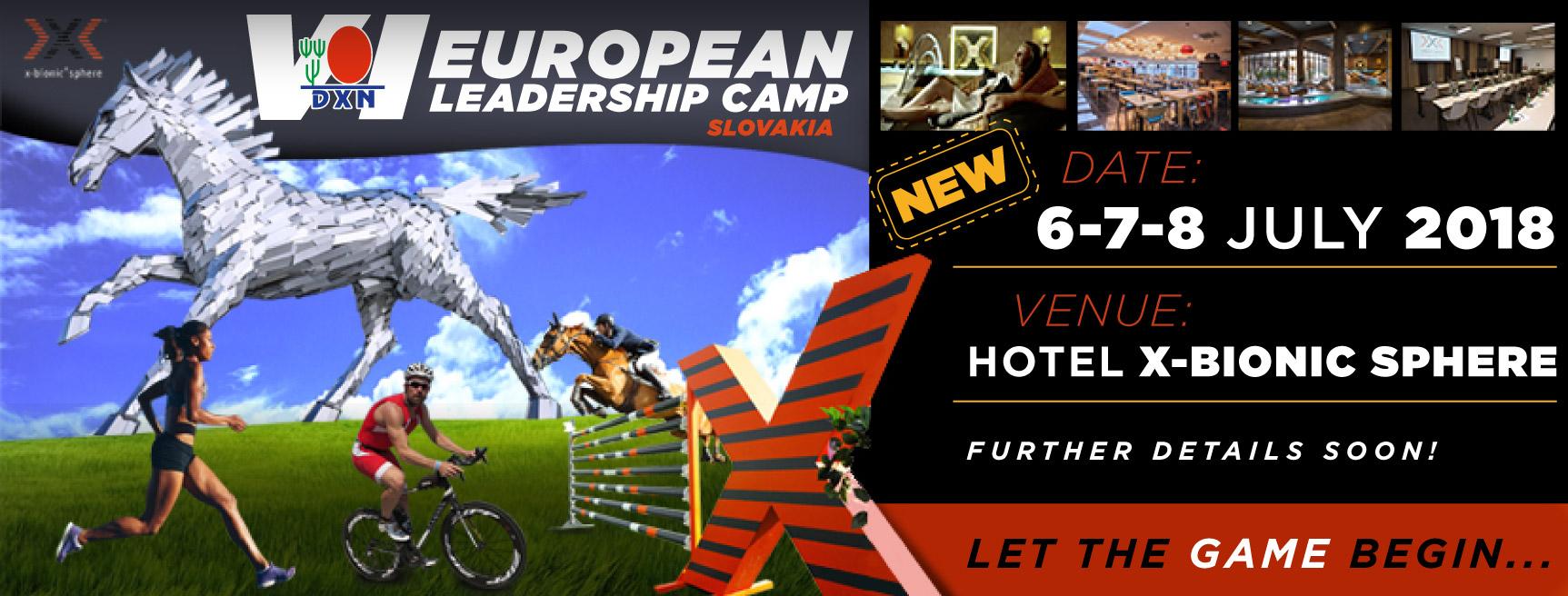 DXN Europa Campamento de liderazgo 2018
