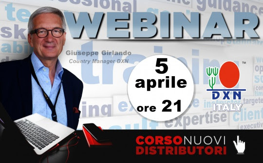 DXN Italia - DXN Italy - webinar