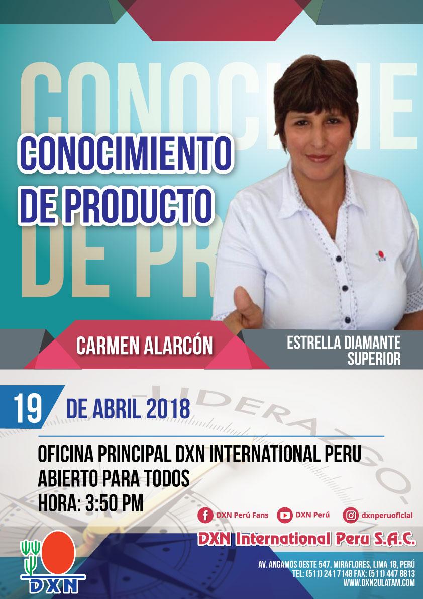 DXN PERU - Conocimiento de Productos