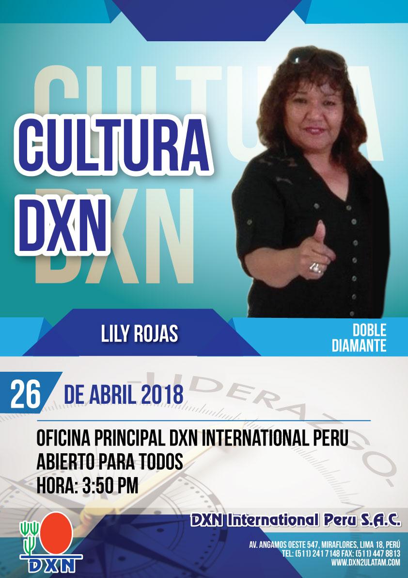DXN PERU - Cultura DXN