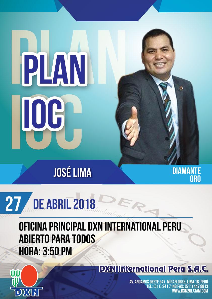 DXN PERU - Plan IOC