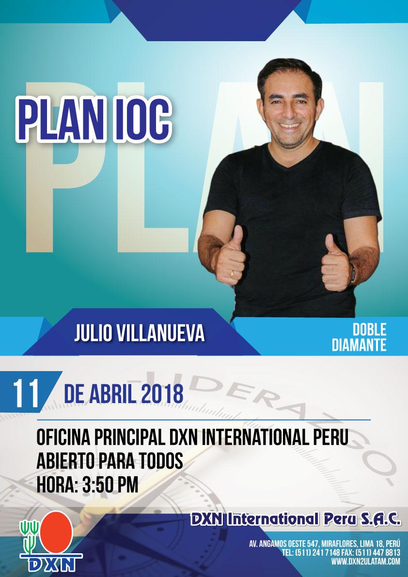 DXN PERU - Plan IOC_110418