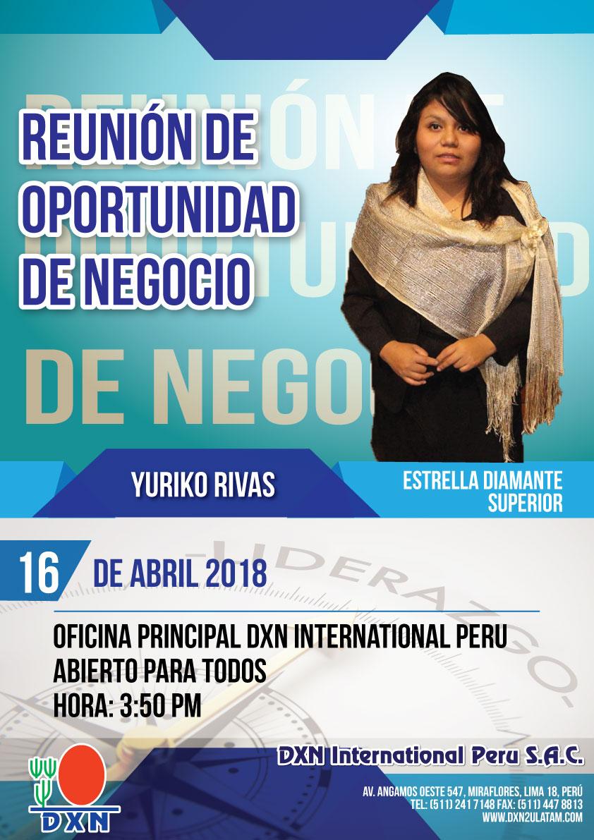DXN PERU - Reunión de Oportunidad de Negocio