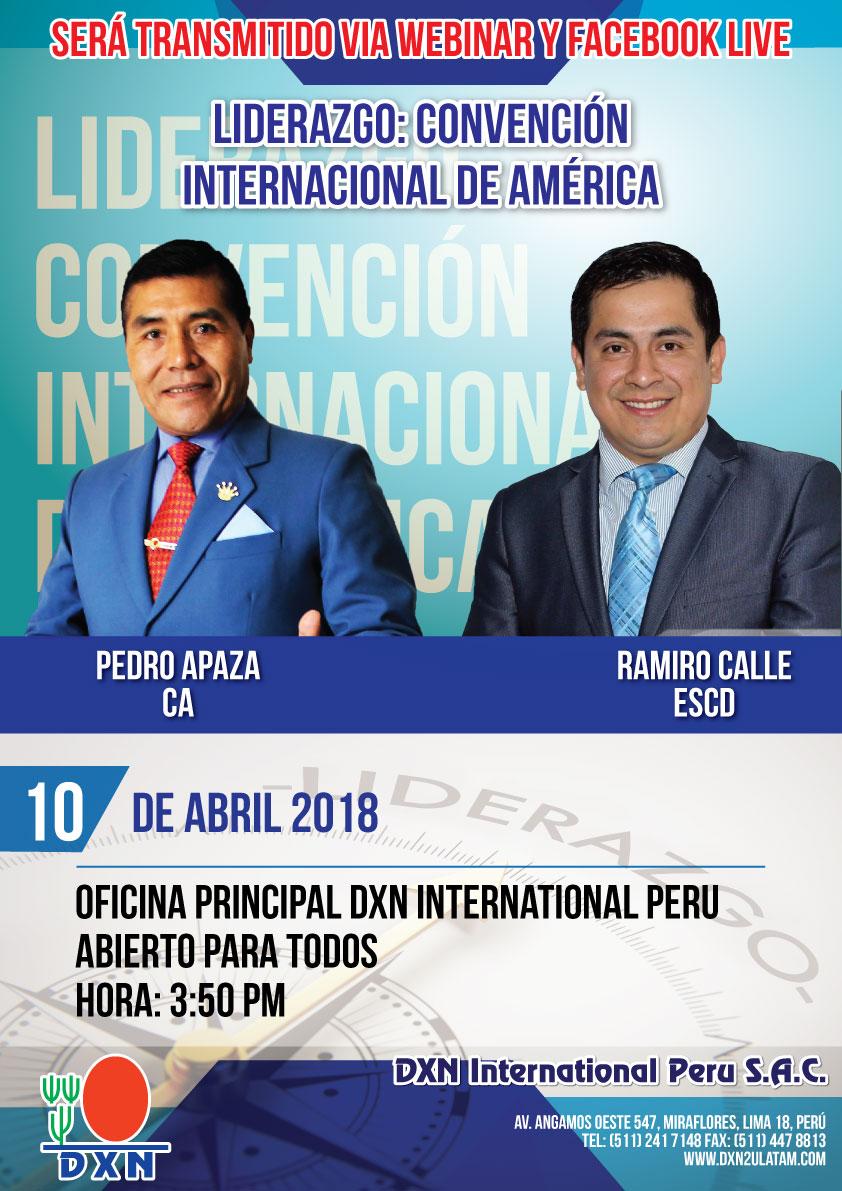 DXN Peru webinar