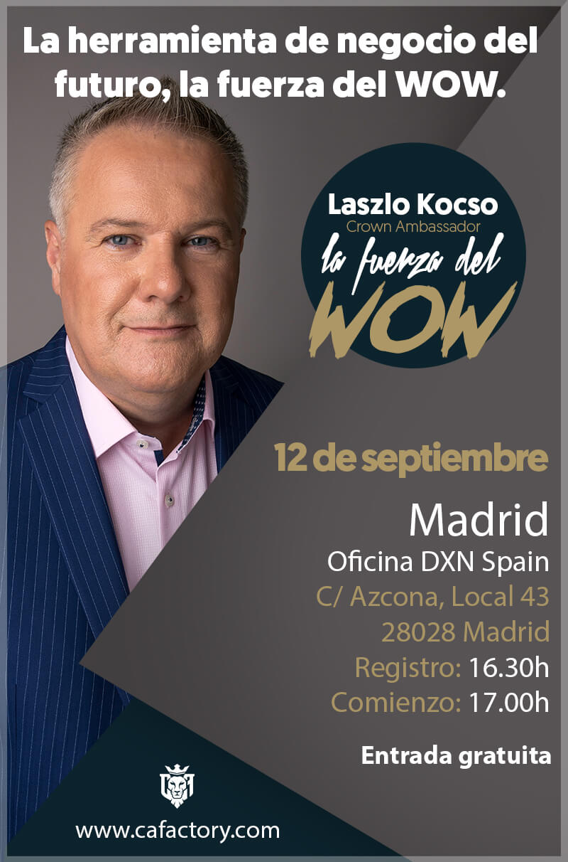 DXN España - DXN Spain - DXN Europa - DXN MLM - DXN Multinivel - Madrid
