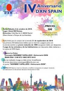 IV Aniversario DXN Spain - DXN España