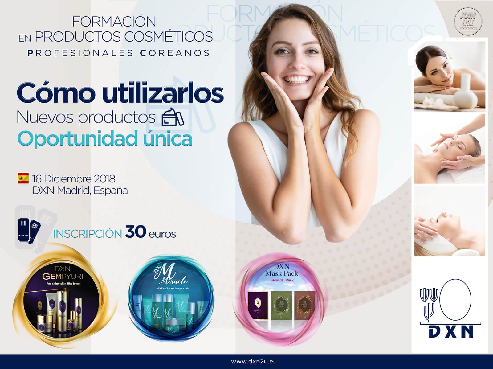 Productos de cosmetica DXN_