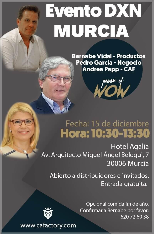 Evento DXN fin de año en Murcia